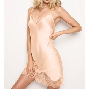 Dream Angels Chantilly & Lace Slip Champagne
